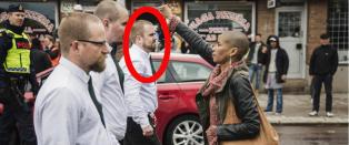 Norske Haakon gikk forrest i demonstrasjonen: - Spesielt at hun anser seg som hevet over loven