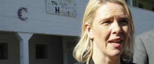 Refser Listhaug: - Dette arrangementet burde hun holdt seg langt unna