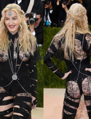Madonna om kjoleslakten: - Ingen grunn til � be om unnskyldning