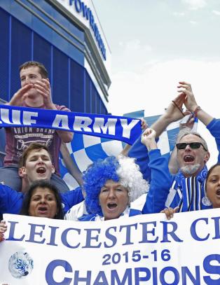Leicester skal hylles i gatene p� norsk fotballs festdag