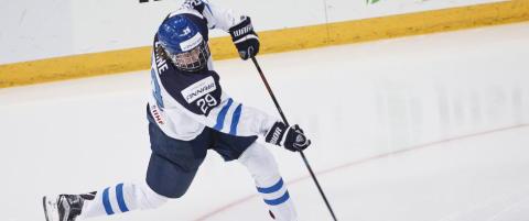 Hockey-VM: Finsk 18-�ring slo Jagrs 26 �r gamle rekord