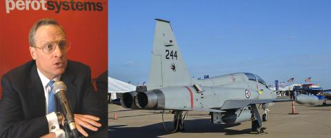 Slakter samr�re mellom Forsvaret og Texas-milliard�r