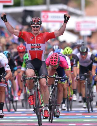 Greipel tok sin andre Giro-etappeseier