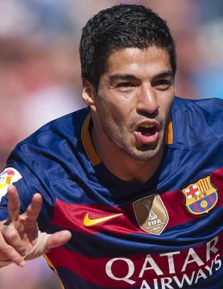 Barcelona slapp med skrekken da m�lk�te Suarez sikret seriegullet