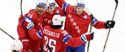 Gladnyhet til hockeygutta: Beholder plassen som A-nasjon