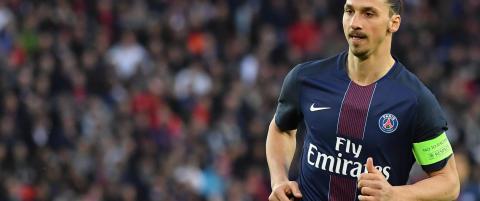 Fransk radiokanal: Zlatan tilbudt kontrakt av Manchester United