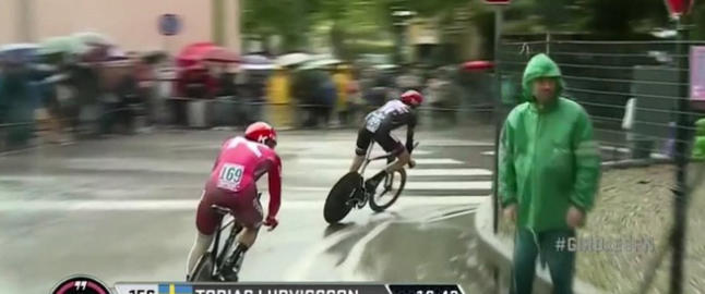 Katusha kaster egen rytter ut av Giro d�Italia