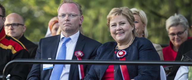 Derfor feirer Erna Solberg 17. mai i Oslo