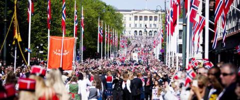 I dag kunne du dele dine 17. mai-bilder med hele verden