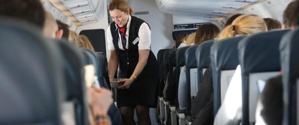 N� vil vi ha mindre drikking p� flyreisene