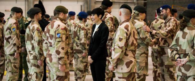 - En soldat blir ikke sviktet fordi noen kritiserer krigen