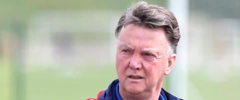 Van Gaal innr�mmer: - Vi har ingenting hvis vi ikke vinner