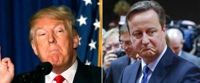 Trump overdrev Cameron-invitasjon