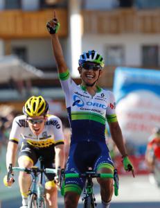 Colombianer parkerte storfavorittene i Giro d'Italia