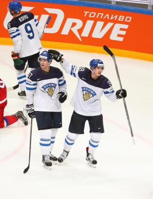 Finland banket hjemmefavorittene Russland i semifinalen