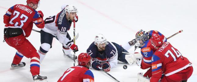 USA ble knust da Russland tok VM-bronse