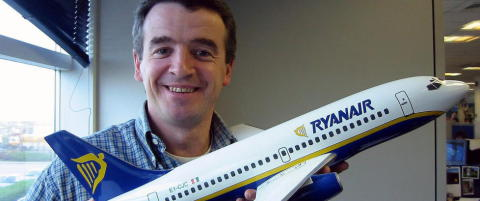 Ryanair tjente 11,5 milliarder kroner p� driften