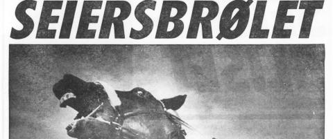 For 30 �r siden skapte en norsk hest hysteriske tilstander