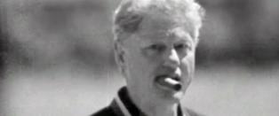 Trump angriper Hillary med sigarbilde av Bill