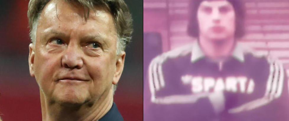 Frank er skyld i van Gaals karakteristiske nese: - Jeg fikk aldri sagt unnskyld