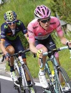 Giro d'Italia-lederen imponerte stort igjen