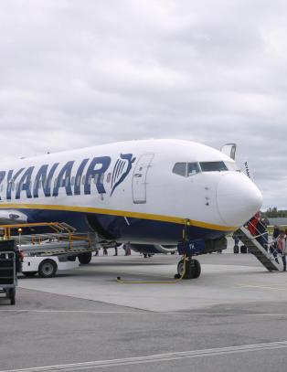 - Ryanair flyr fra Norge s� lenge de tjener penger