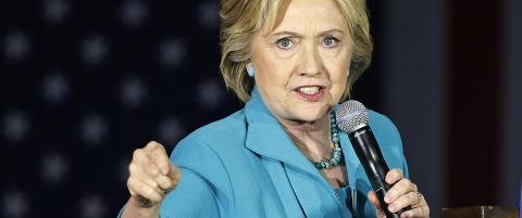 Skarp kritikk mot Clinton for bruk av privat e-postserver