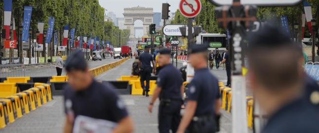 Spesialstyrke skal beskytte Tour de France