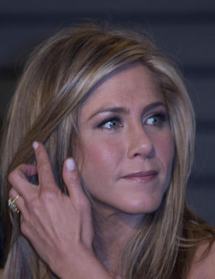 Jennifer Aniston i sorg