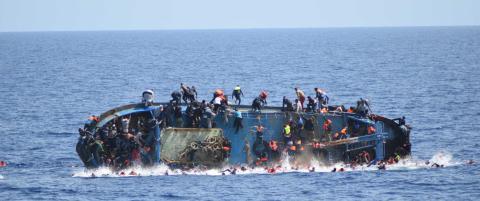 Nok en drukningstragedie utenfor Libya