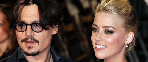 Johnny Depp bryter tausheten etter bruddet
