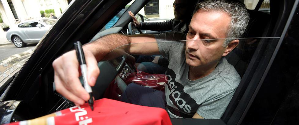 Mourinho i sitt f�rste intervju: - Vi kan vinne