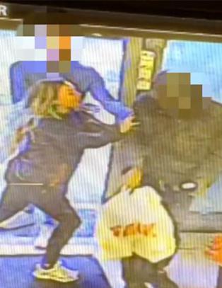 Her stopper lille Sofia (22) aggressiv øltyv - blir truet på livet