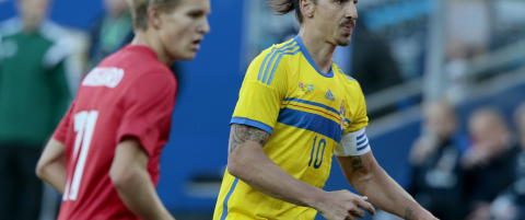 Hevder Zlatan er ferdig på landslaget