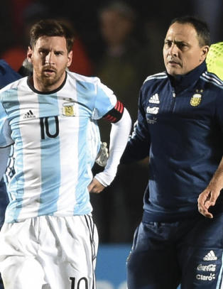 Messi til sykehus etter landskamp