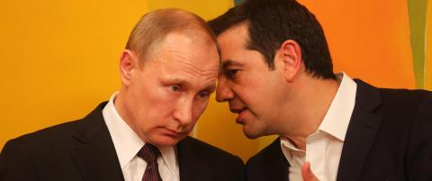 Putin: - Vesten truer Russlands sikkerhet