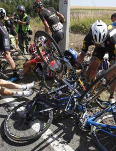Ny motorsykkelulykke i belgisk sykkelritt