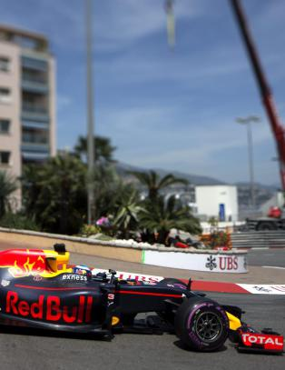 Ricciardo i pole position for f�rste gang