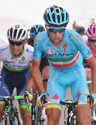 Nibali sikret sin andre rosa tr�ye