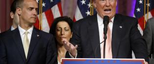 Kaos og krangler p� innsiden av Trumps valgkamporganisasjon