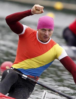 Her jubler Leonid for OL-plass, n� er han og sju lagkamerater tatt i doping