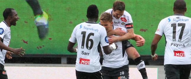 Tre magiske minutter reddet et poeng for Sogndal