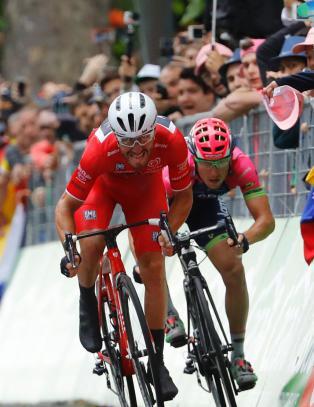 Fratatt seieren i Giro d'Italia