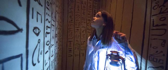 I �Labyrint� p� Teatret V�rt f�r tilskueren rollen som oppdager