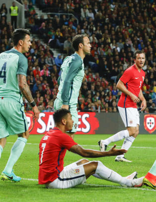 King var Norges beste mot Portugal. Her er spillerb�rsen