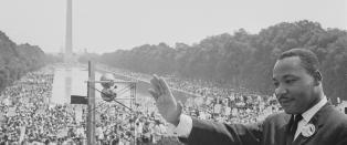 Skuffet Trump hadde dr�mt om historisk �Martin Luther King� -�yeblikk