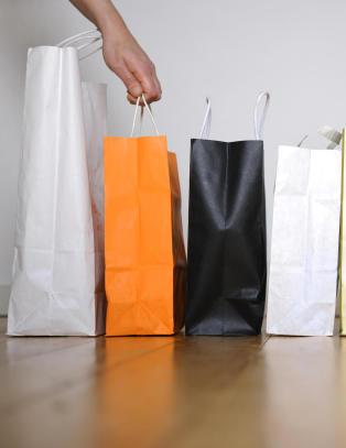 Vi shoppet mindre enn ventet
