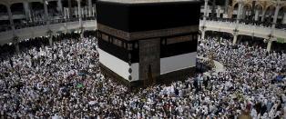 I fjor d�de 2000 i feiringen: N� nekter Iran pilgrimer � reise til Mekka