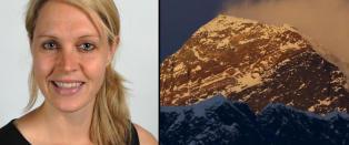 Maria (34) ble syk 15 minutter fra toppen. S� d�de hun i ektemannens hender