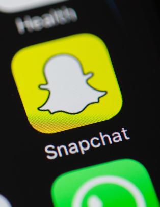 Store problemer med Snapchat mandag kveld